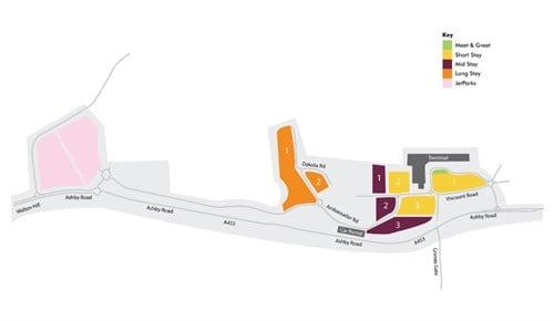 East Midlands Airport Parking Map Flight Arrivals   East Midlands Airport