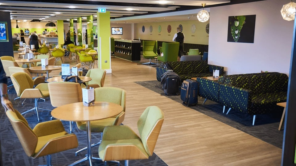Stansted Airport Escape Lounge Slide 2